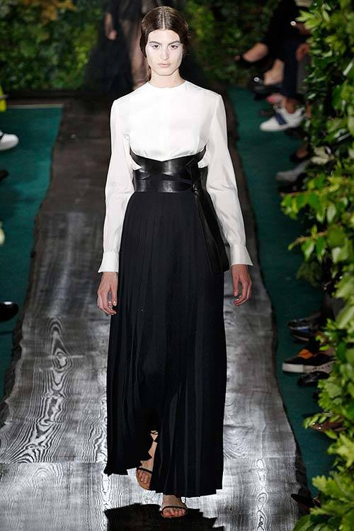 Elodia Prieto for Valentino A/W 2014, Getty Images.