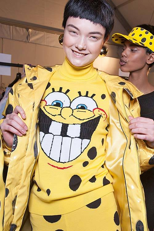 Fashion with a sense of fun at Moschino Fall/Winter 2014, All Over Press.