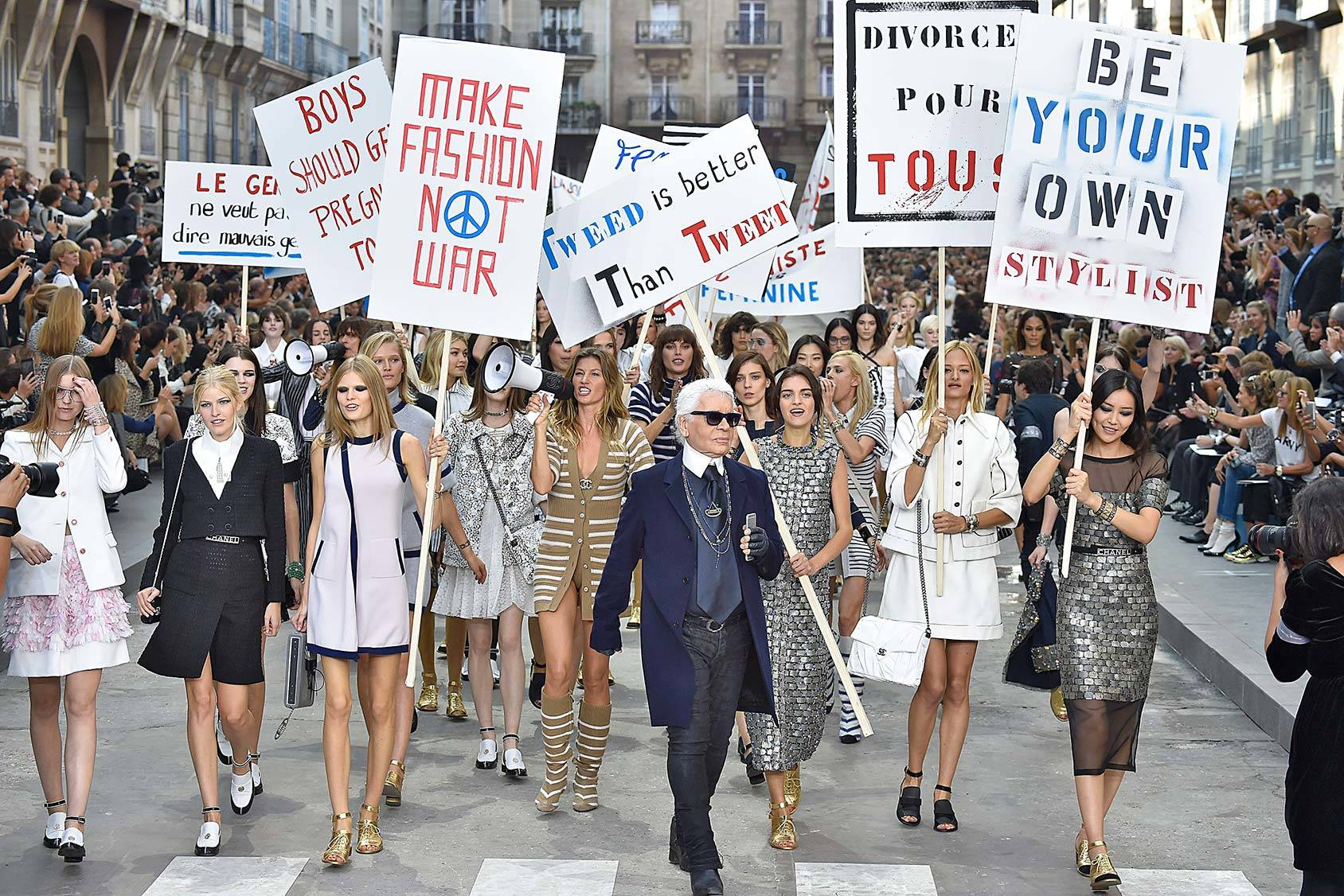 The Chanel S/S 2015 show – one of the biggest fashion stories of the year, All Over Press