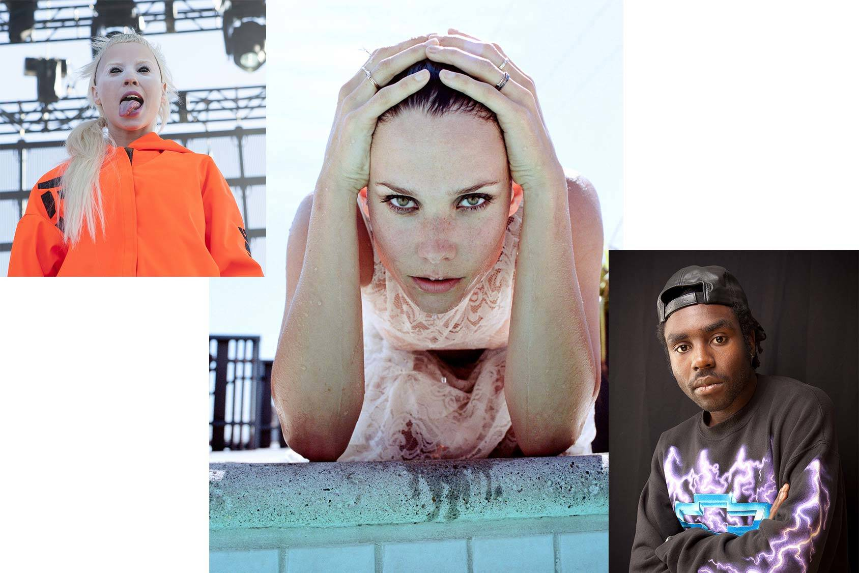 Nanna Øland Fabricius follows Yolandi Visser and Dev Hynes, All Over Press/Justin Tyler Close.