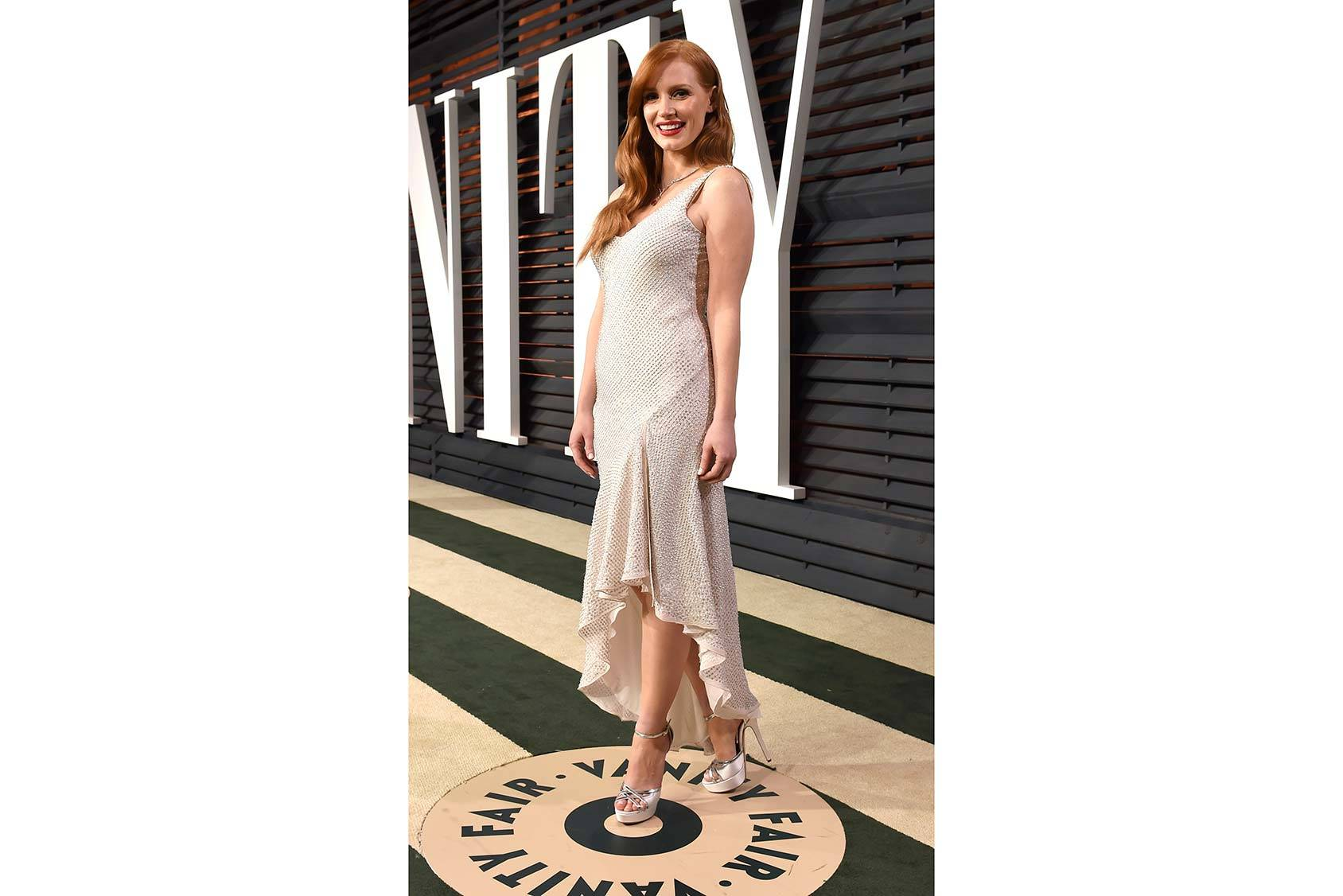 Jessica Chastain in H&M Conscious Exclusive, Getty Images.