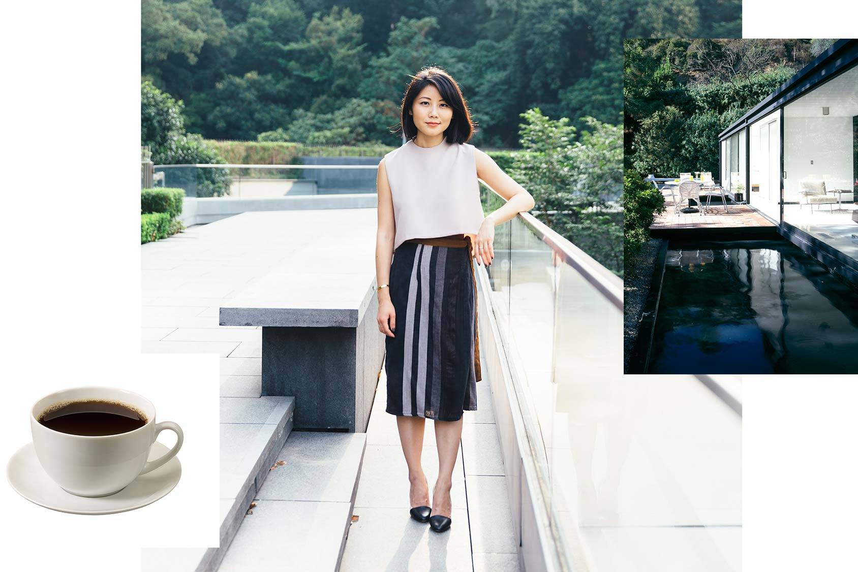Alice Gao follows coffee lover Oliver Strand and cityboy Eric's architectural photos, All Over Press/Samantha Wong.