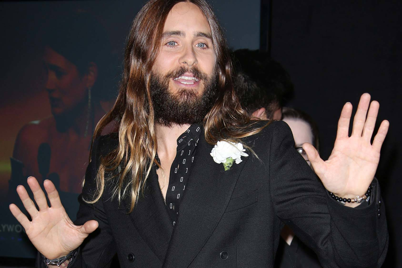 Jared leto, All Over Press.
