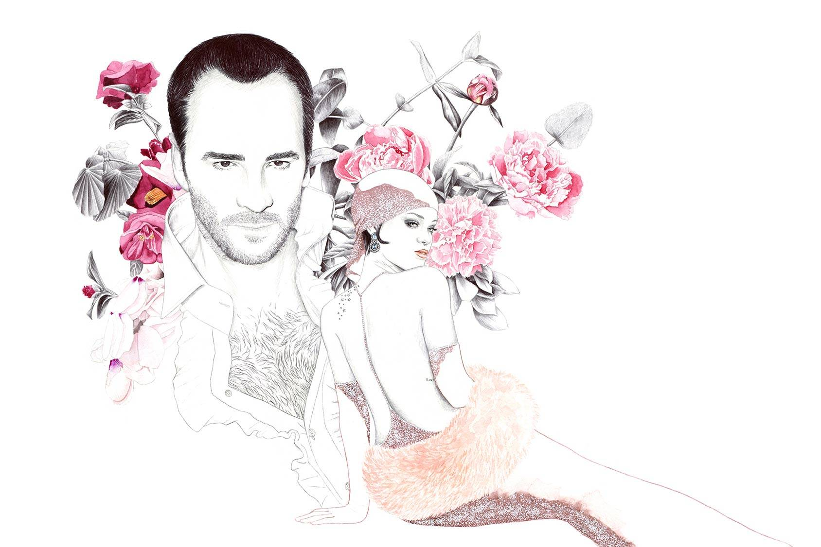 Tom Ford and Rihanna, Florian Meacci.