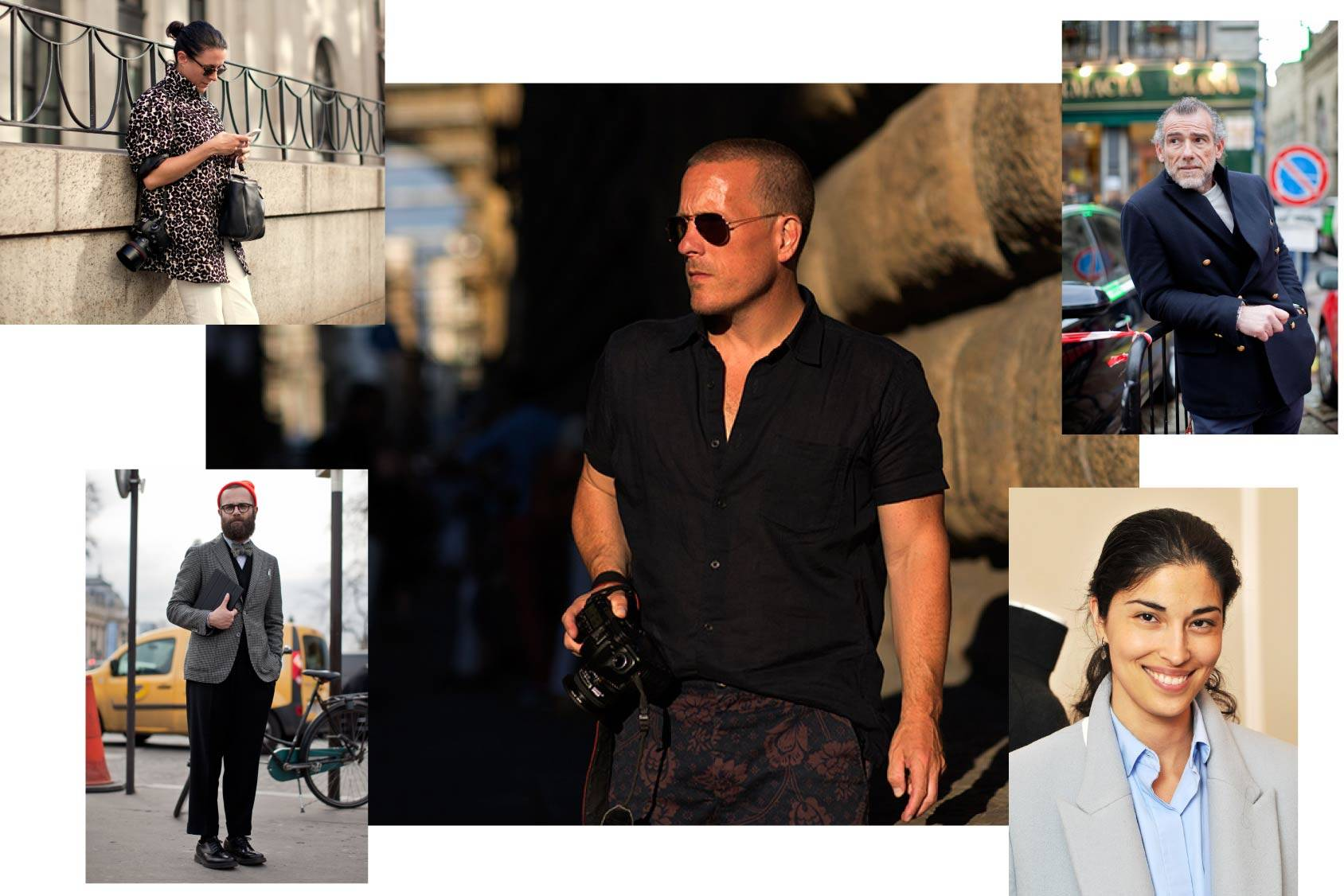 Scott Schuman follows Garance Dore, Angelo Flaccavento, Alessandro Squarzi and Caroline Issa, All Over Press.