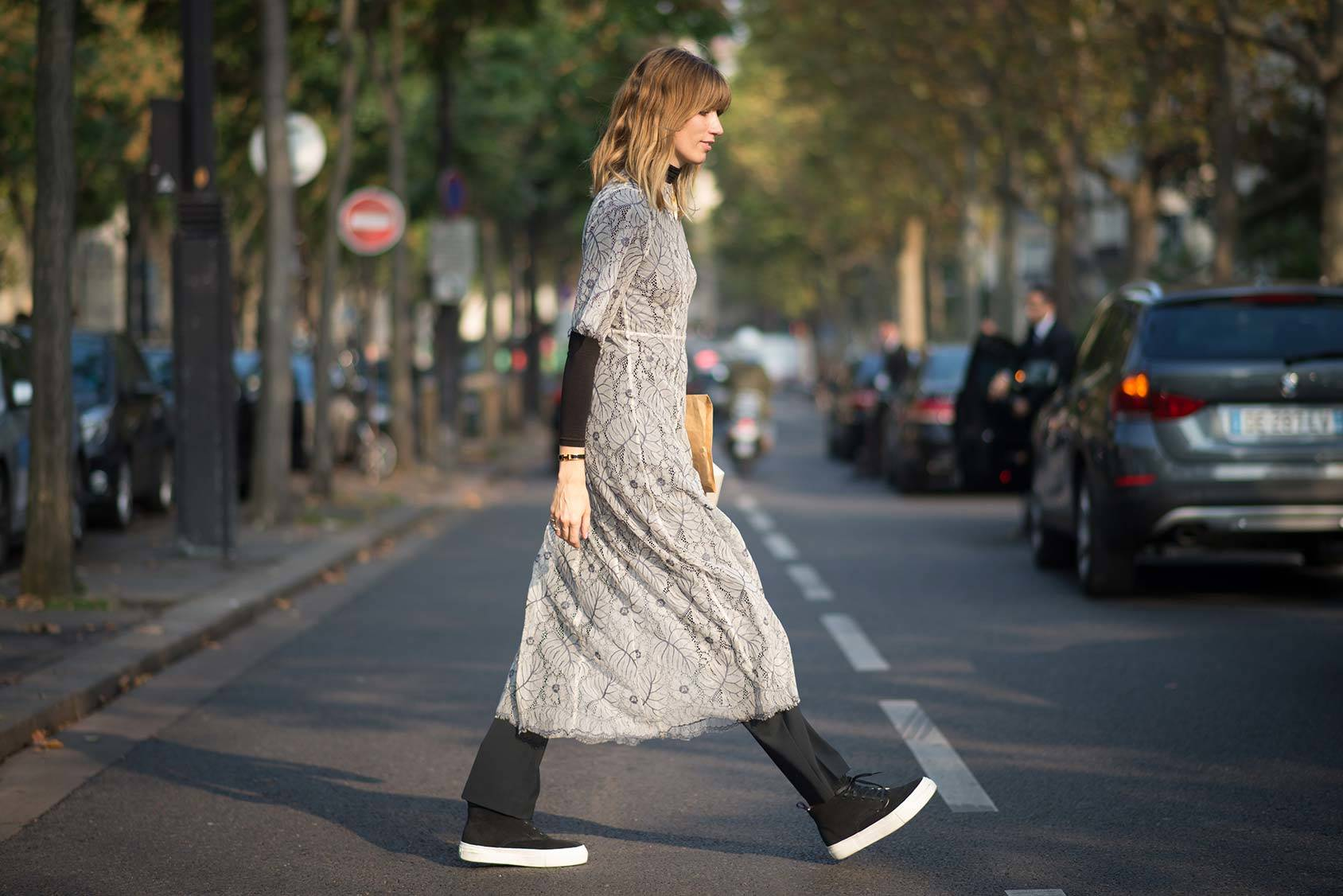 German street style star Veronika Heilbrunner, Getty Images.