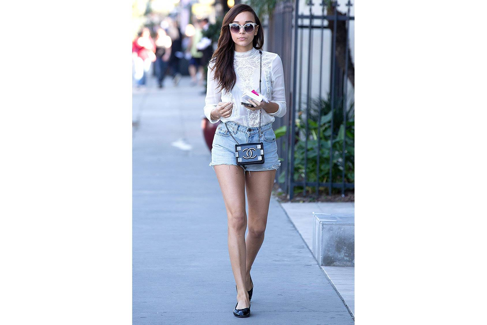 Ashley Madekwe, All Over Press.