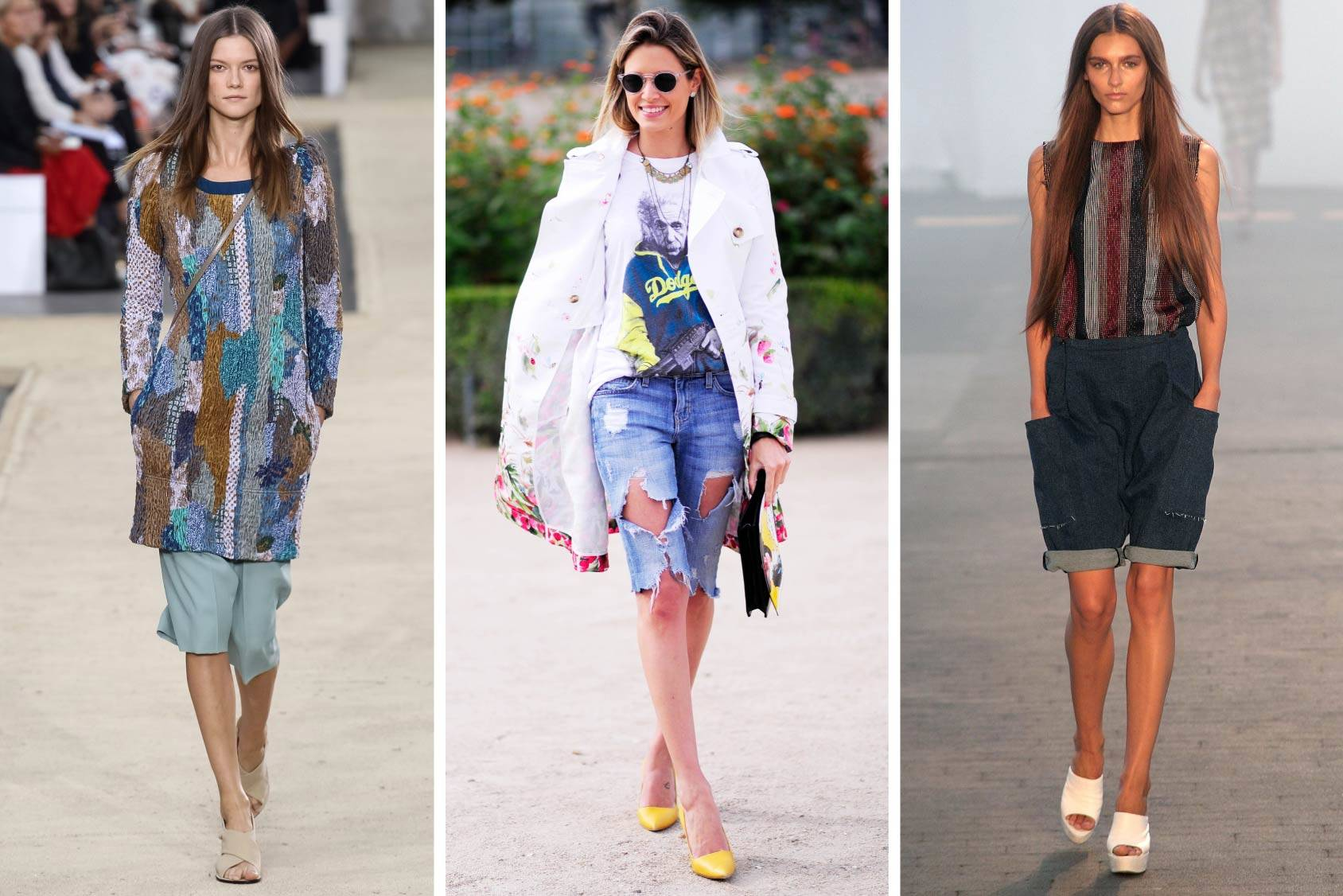 Chloé Spring/Summer 2014, Street style in Paris and Jen Kao Spring/Summer 2014, All Over Press/TT.