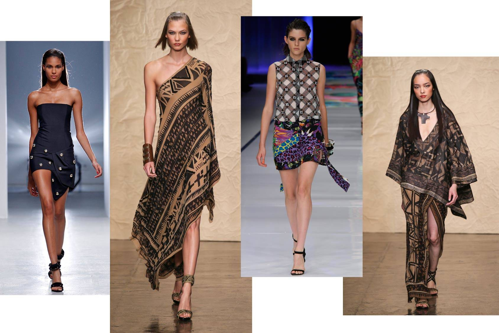 Anthony Vaccarello, Donna Karan and Just Cavalli Spring/Summer 2014, All Over Press.