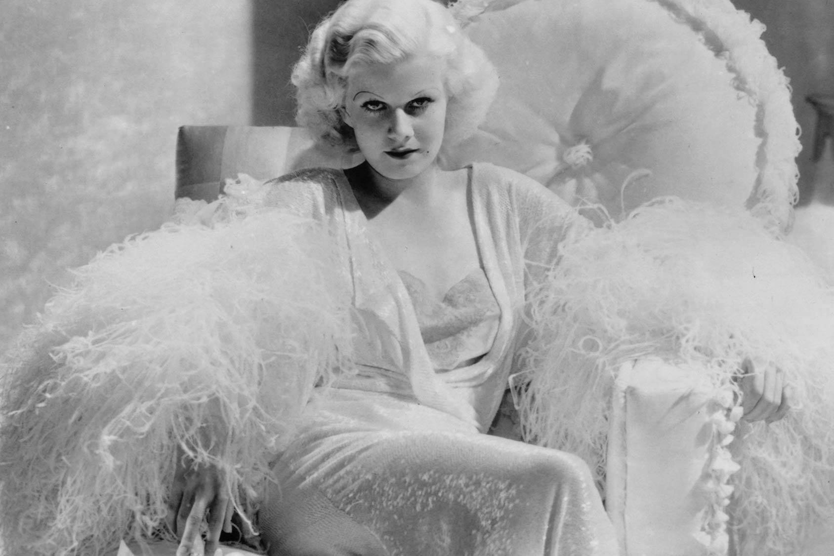 Fashion rebel Jean Harlow, Getty Images.