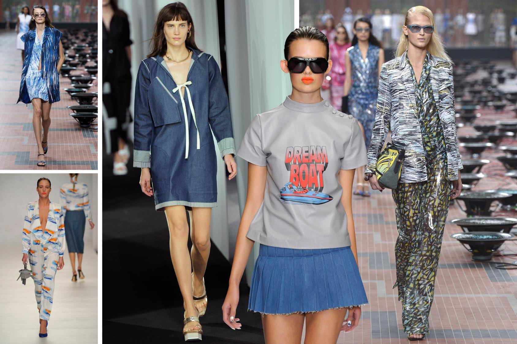 Kenzo, Ashley Williams, Acne, Ashley Williams and Kenzo, Spring/Summer 2014, All Over Press.