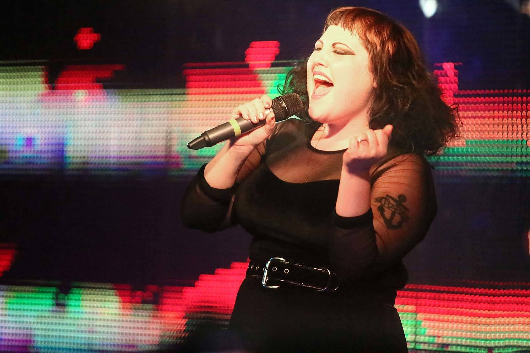 Beth Ditto of The Gossip, Getty Images.