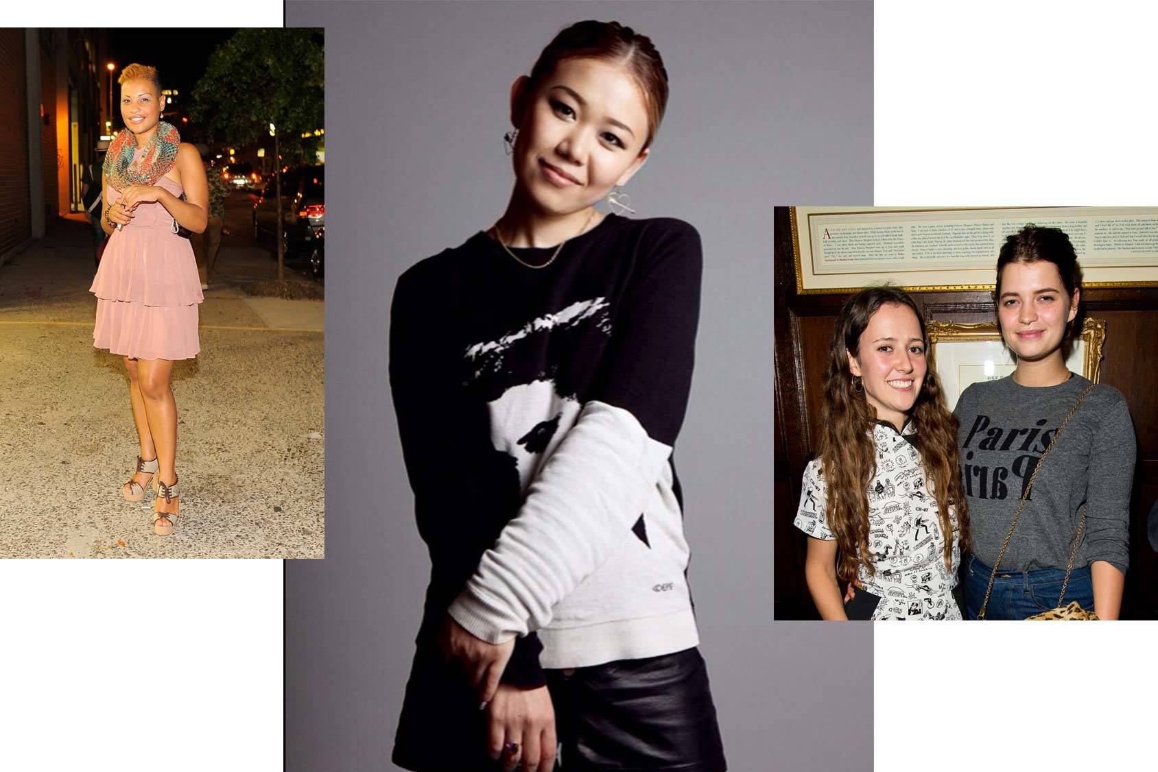 Naomi Yasuda follows Nchimunya Wulf of 14 Plus and Pixie Geldof and Ashley Williams of Funkyoffish, Getty Images.