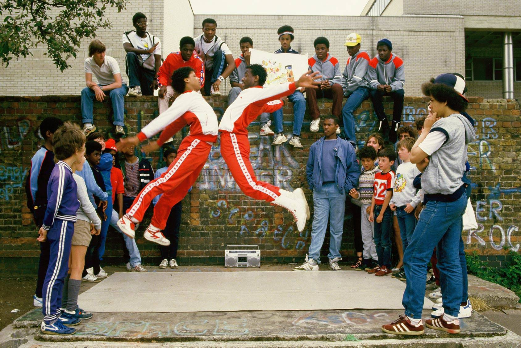 B-Boys on the streets of London in the 80's, All Over Press.