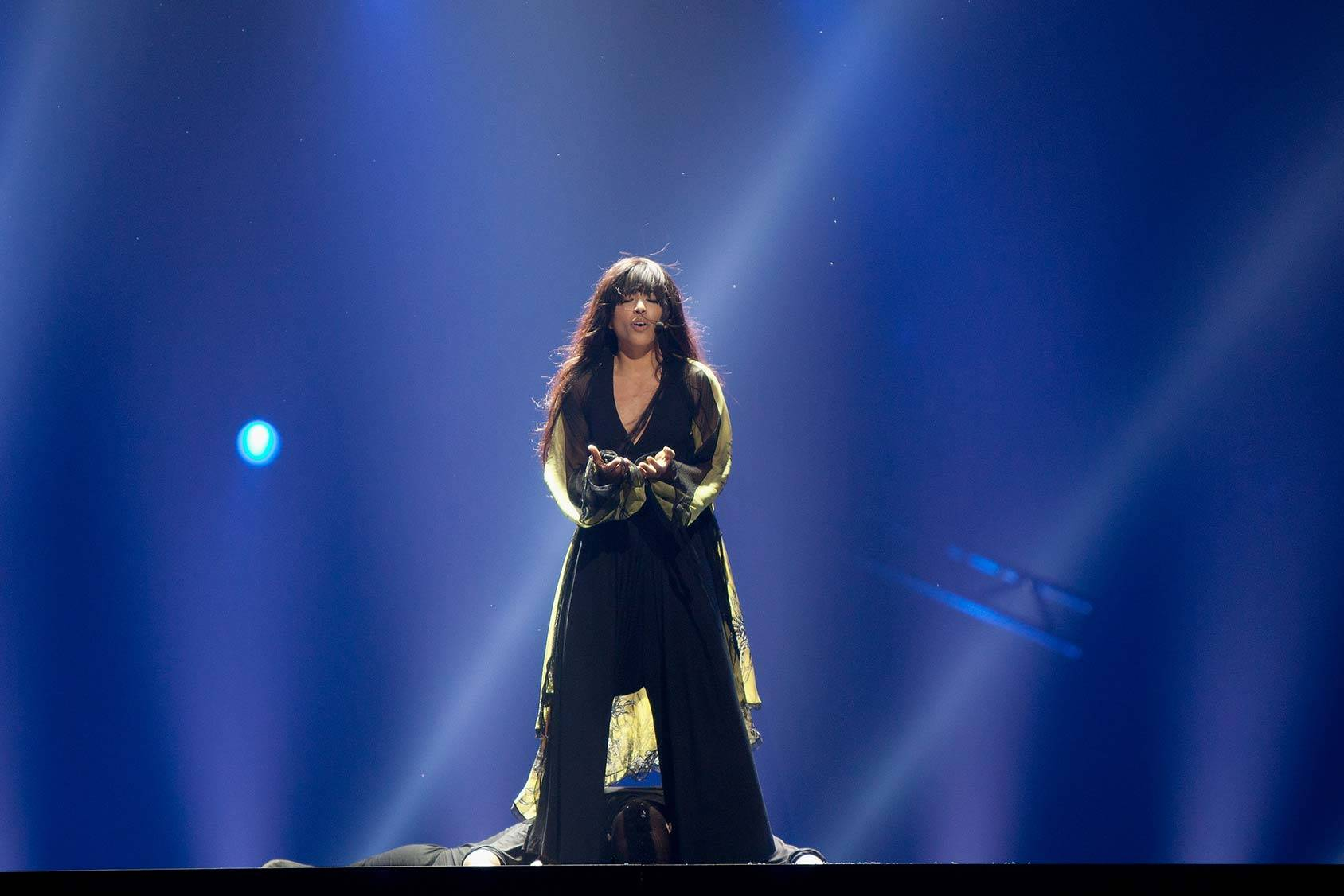 2012's winner Loreen took minimalism to the Eurovision, Getty Images.