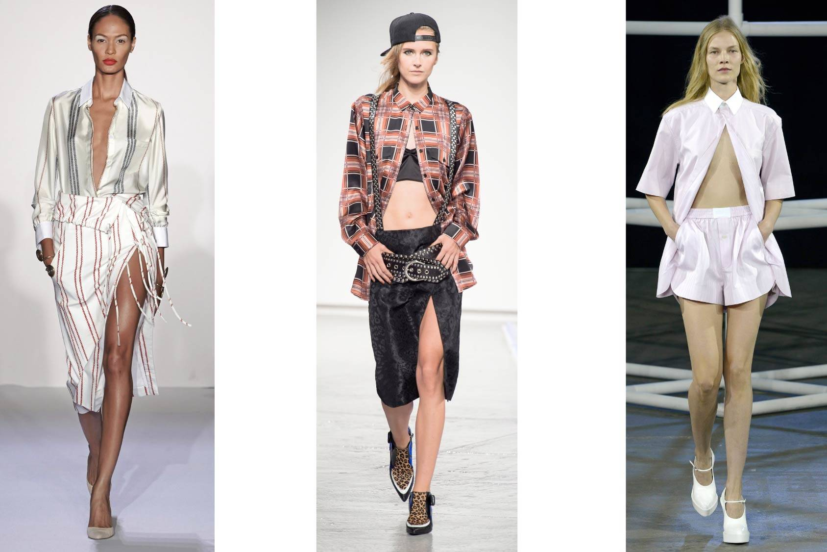 Altuzarra, Rodarte and Alexander Wang, Spring/Summer 2014, All Over Press.