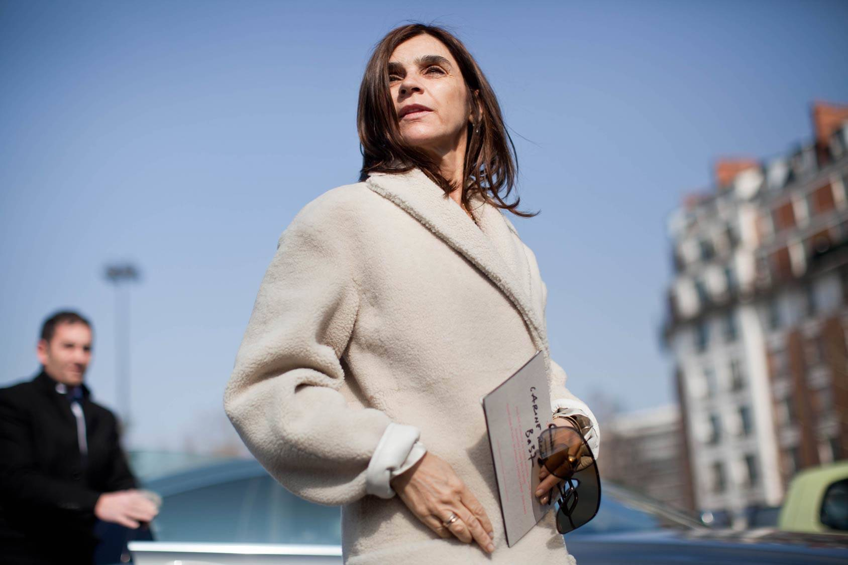 Carine Roitfeld, 59, All Over Press.