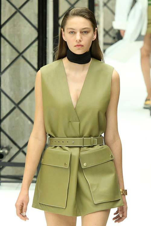Safari inspiration at Acne Studio Spring 2015, Getty Images.