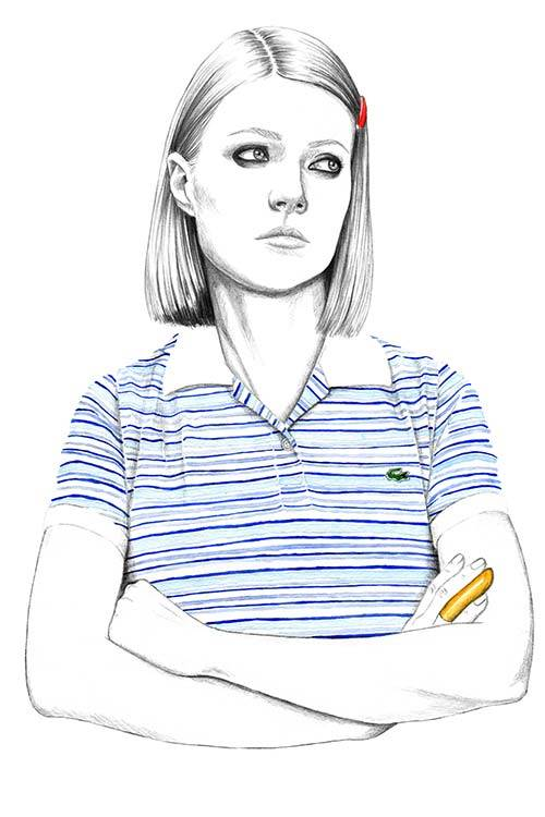 Gwyneth Paltrow in Wes Anderson's The Royal Tenenbaums. /Florian Meacci