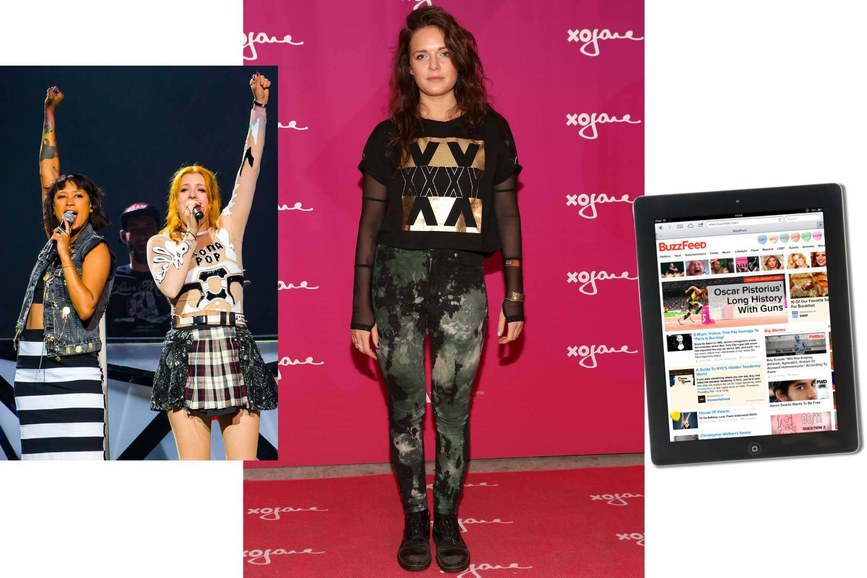 Tove Lo follows Swedish duo Icona Pop and Buzzfeed, All Over Press/Getty Images.