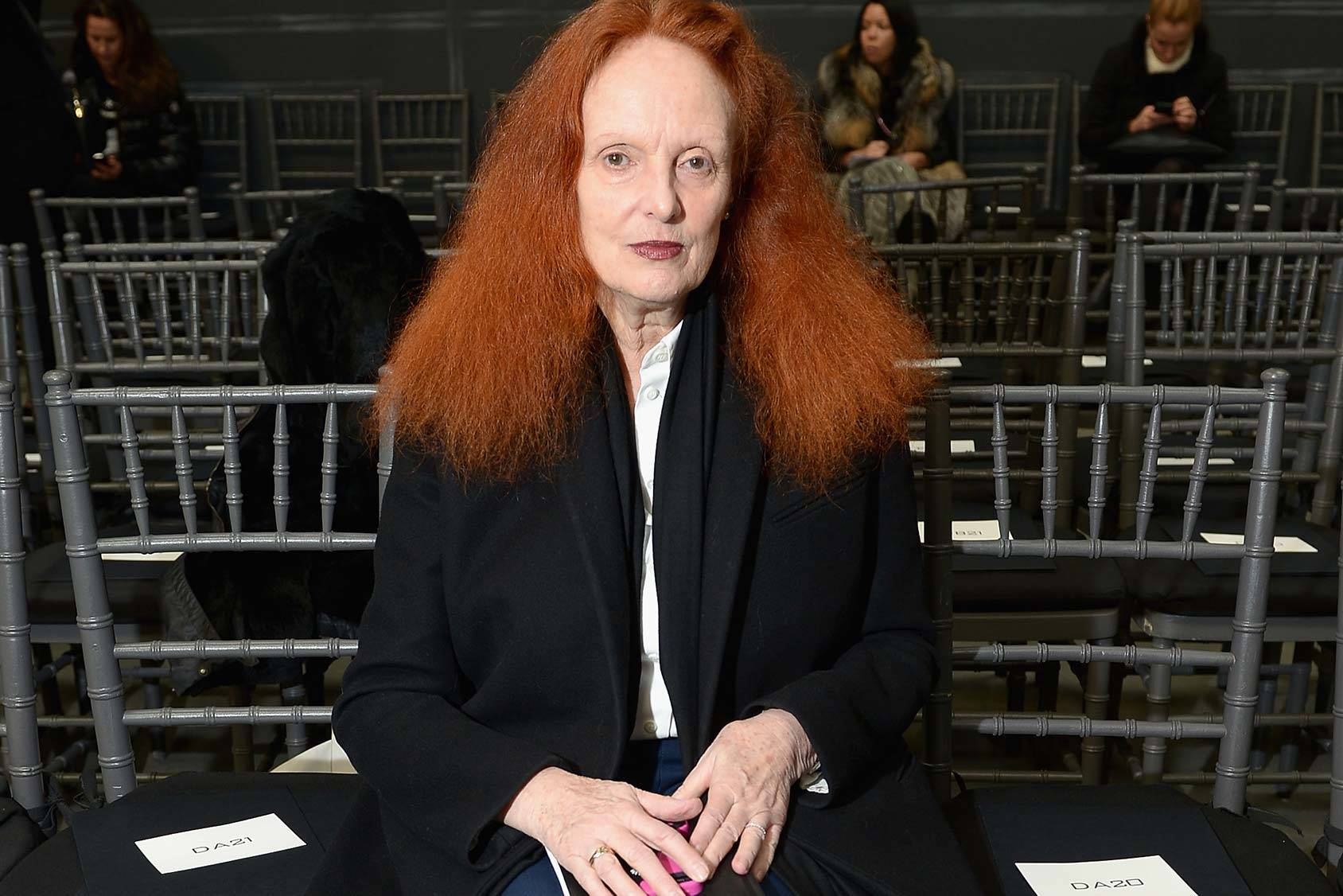 Grace Coddington, creative director of US Vogue, Getty Images.