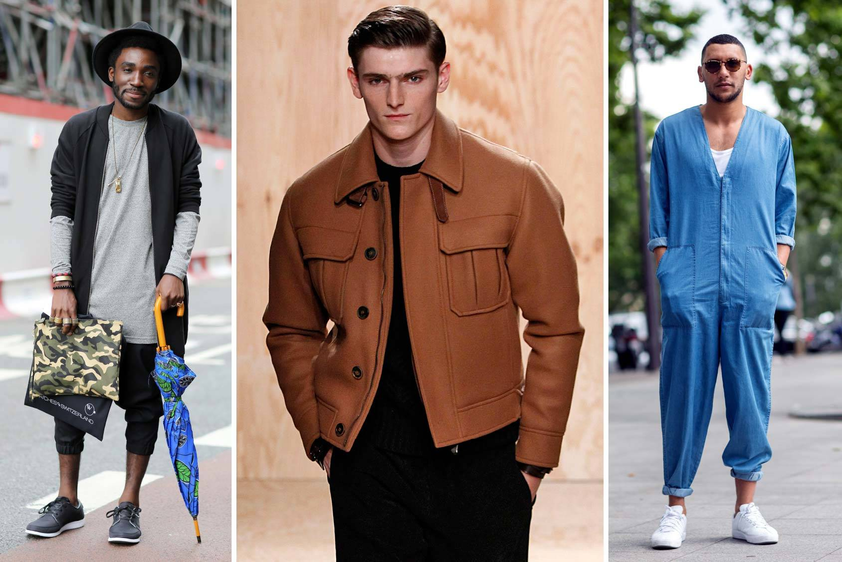 Street style from London and Paris and the boxy two-pocket jacket from Berluti, All Over Press.