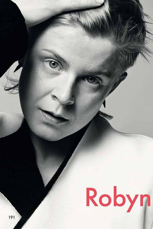 The Robyn issue is out now.