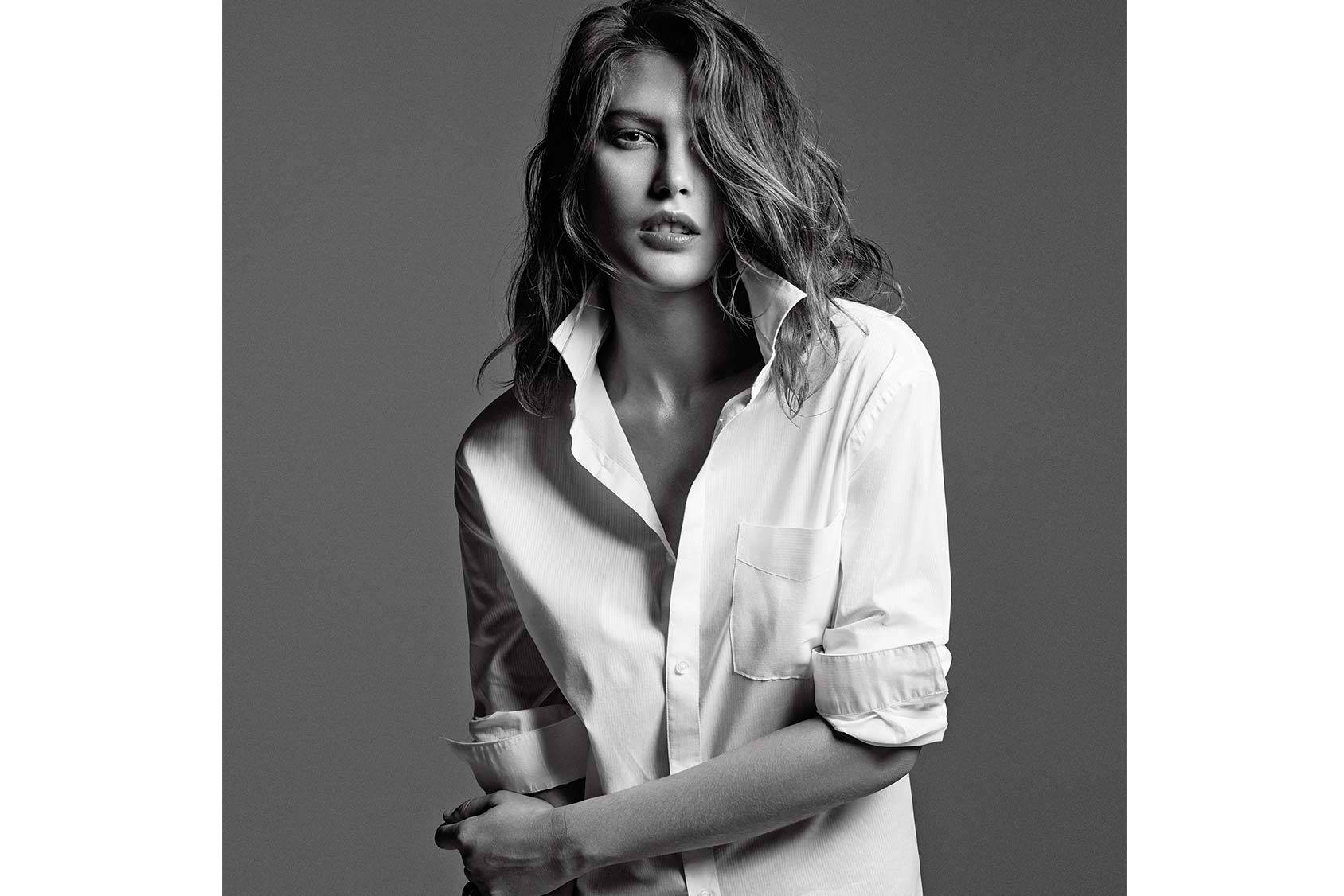 Catherine McNeil photographed by Tobias Lundkvist and styled by Columbine Smille.