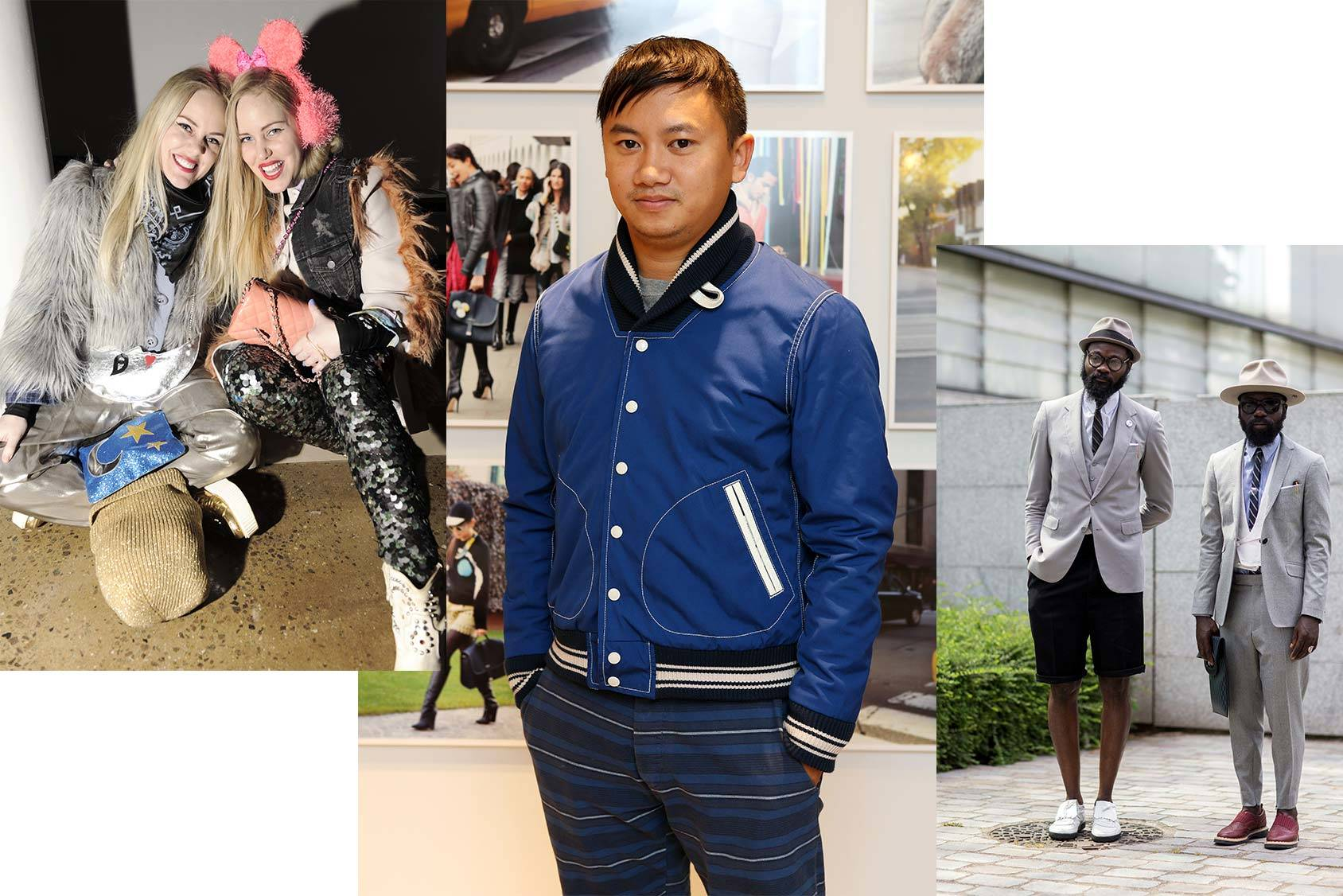 Tommy Ton follows the Beckerman sisters and Sam Lambert and Shaka Maidoh, All Over Press.