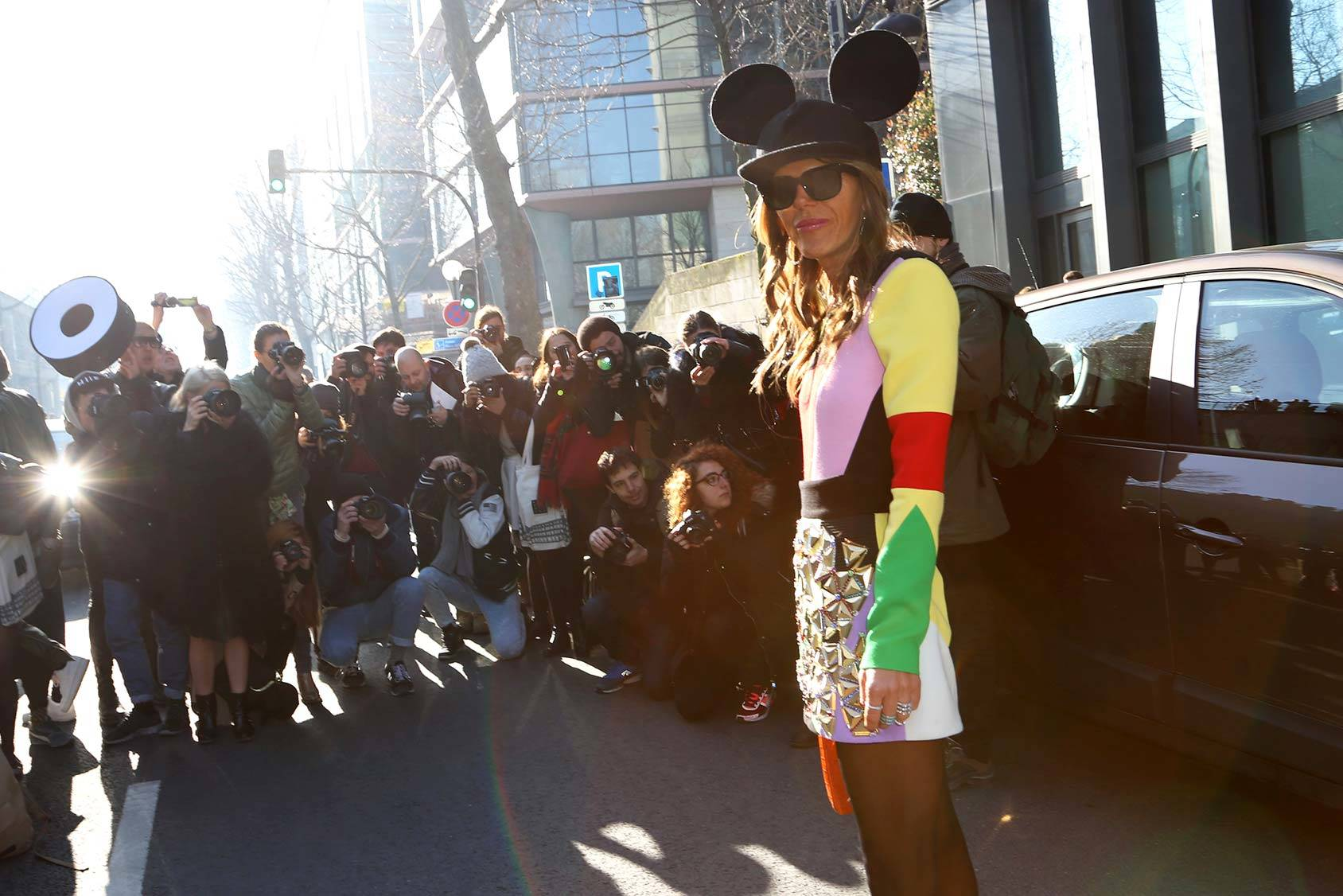 Anna Dello Russo, All Over Press