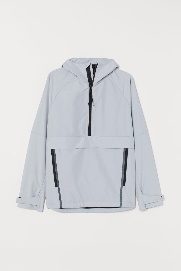 H & M - 運動風套穿式外套 - 灰色