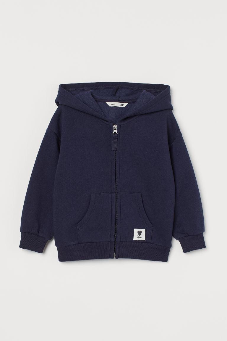 H & M - Munkjacka - Blå
