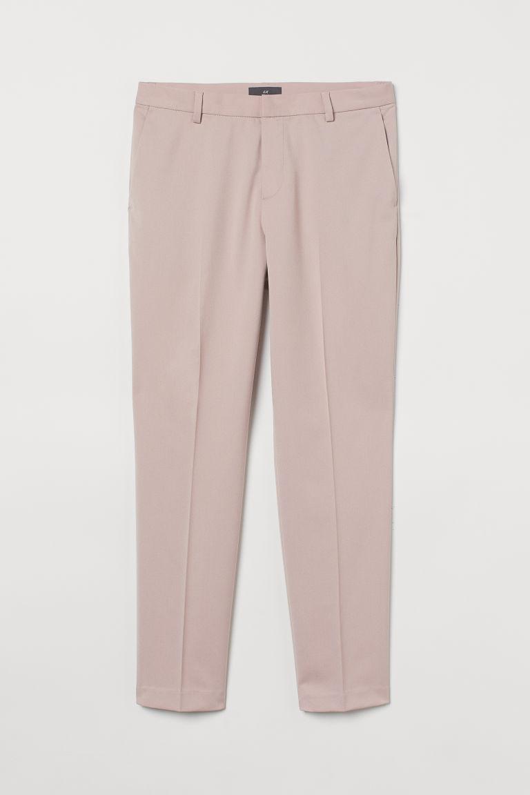 H & M - 貼身煙管褲 - 粉紅色
