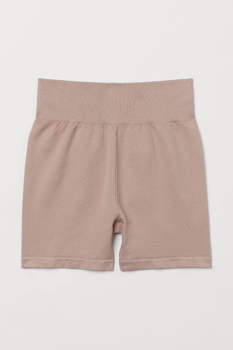 H & M - 無痕熱褲 - 粉紅色