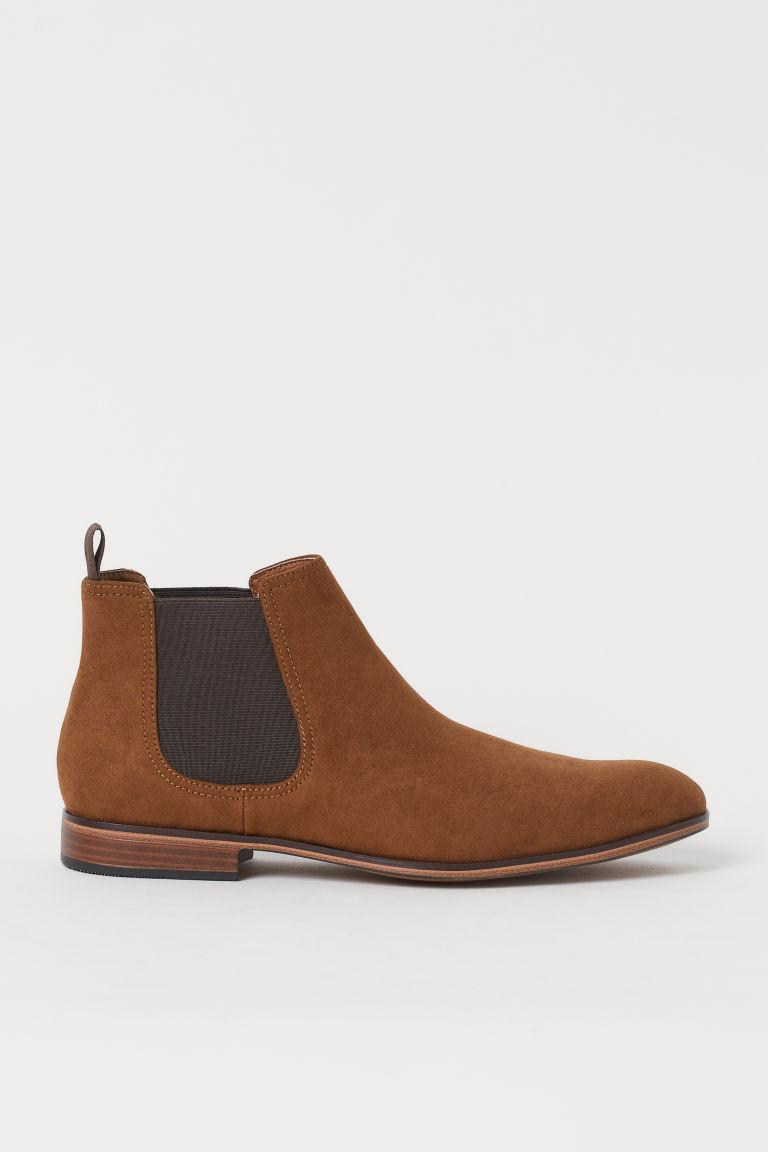 H & M - 切爾西靴 - 米黃色