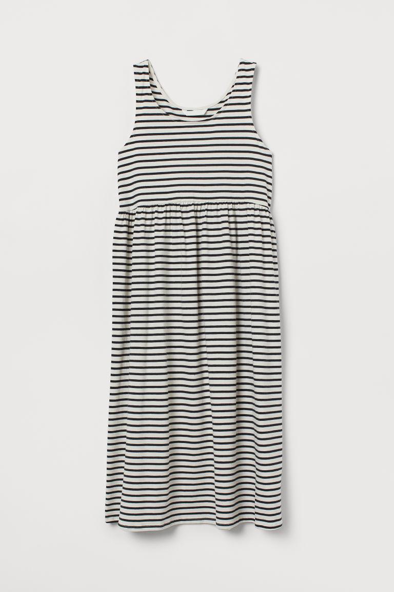H & M - MAMA 棉質洋裝 - 白色