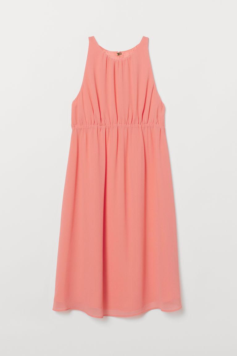 H & M - MAMA 無袖洋裝 - 紅色
