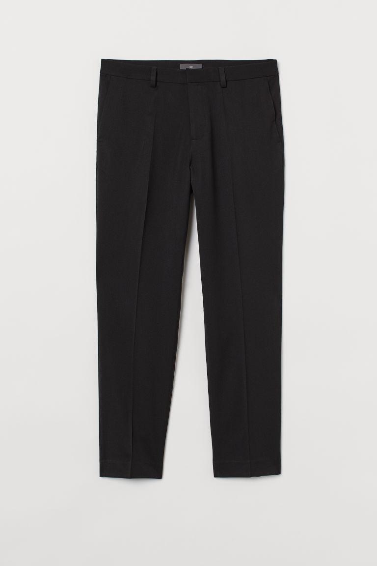 H & M - 貼身煙管褲 - 黑色