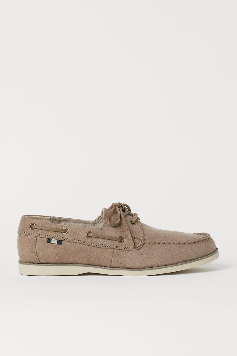 H & M - 帆船鞋 - 米黃色