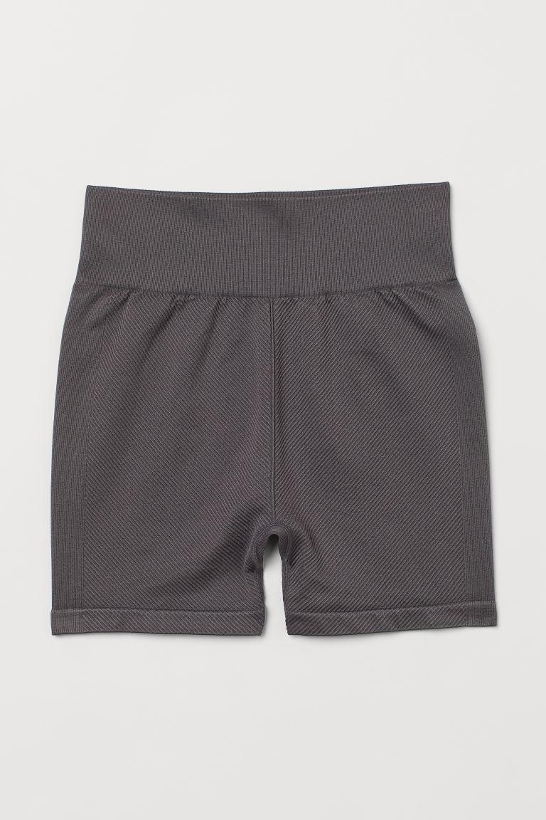 H & M - 無痕熱褲 - 灰色