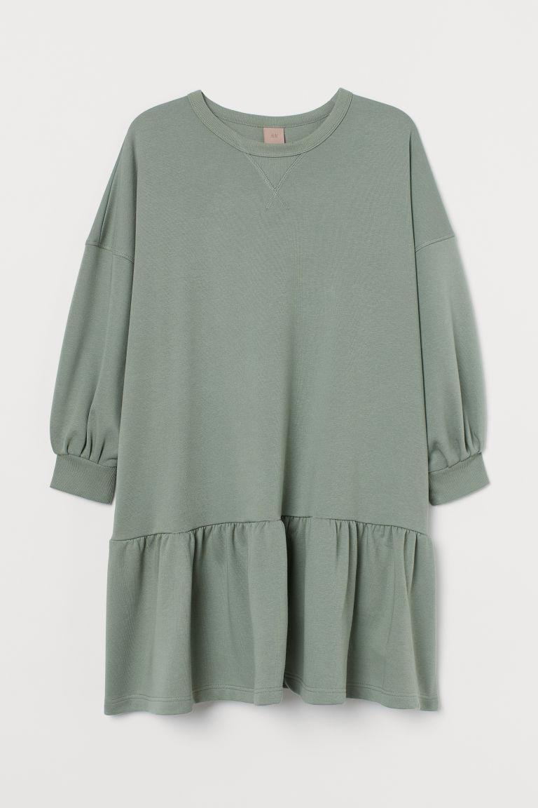 H & M - H & M+ 運動洋裝 - 綠色