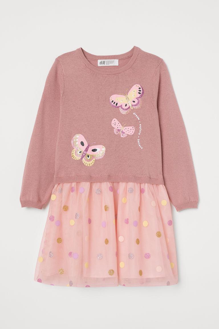 H & M - 洋裝 - 粉紅色