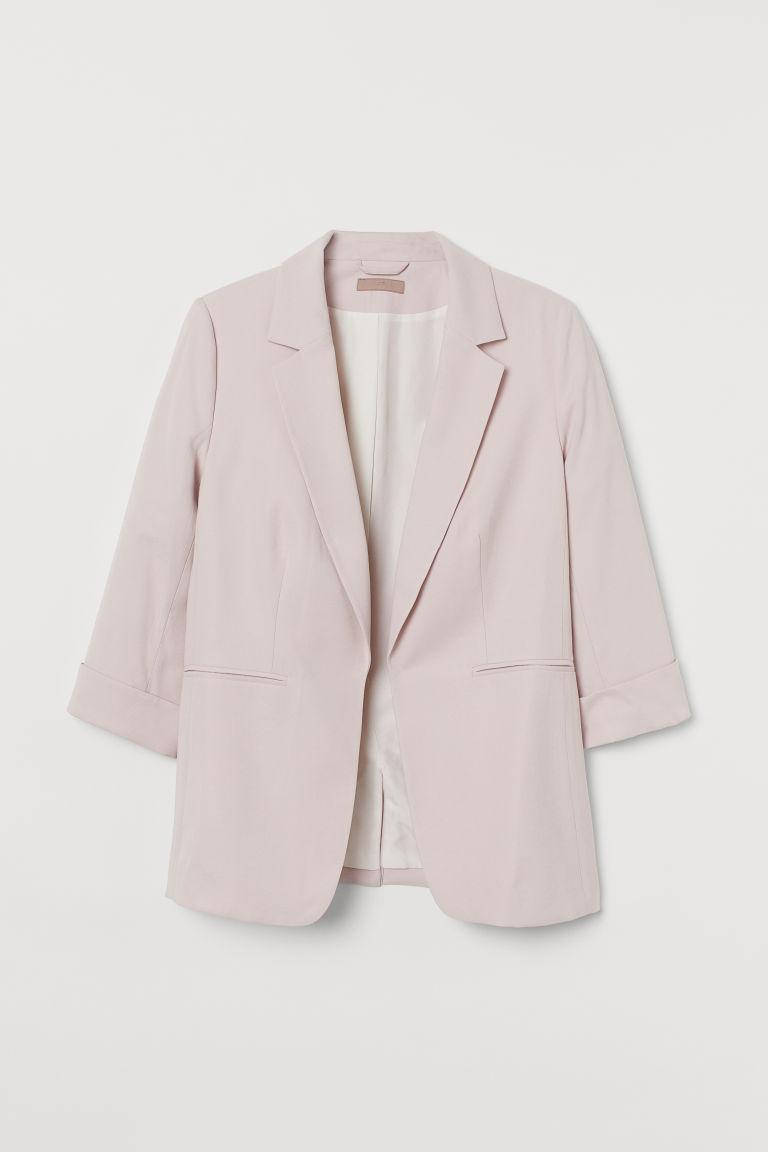 H & M - H & M+ 合身外套 - 粉紅色