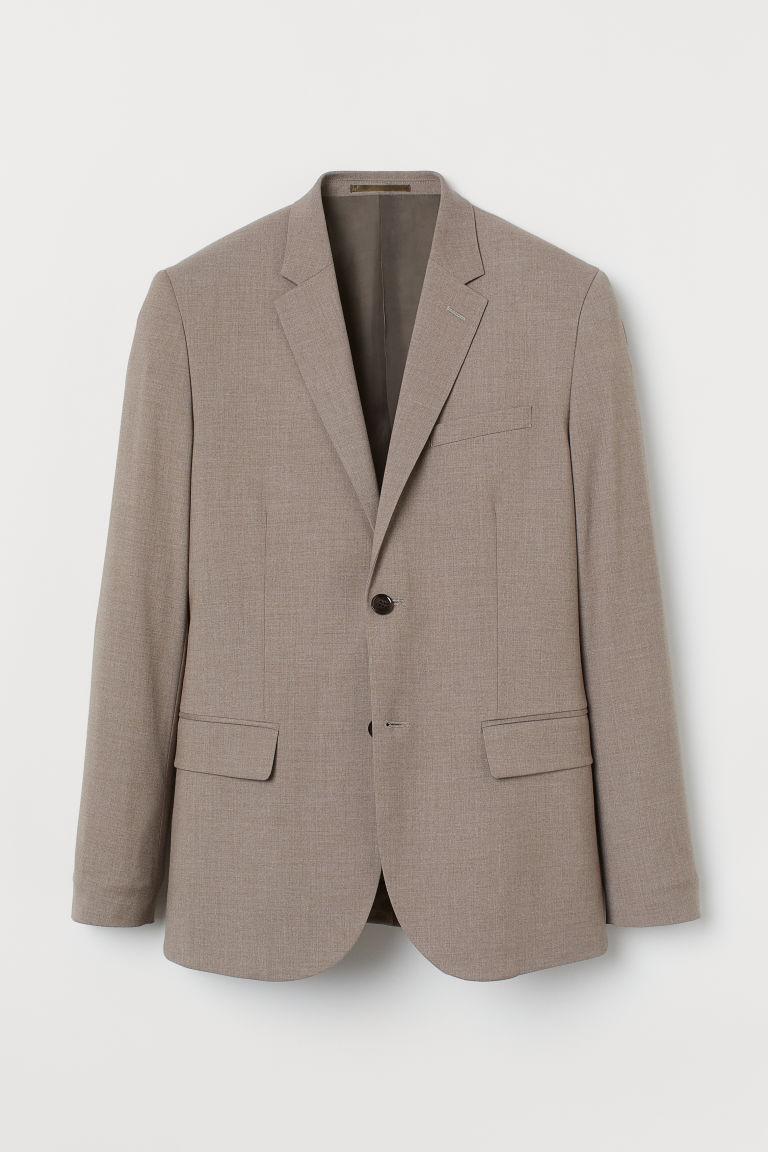 H & M - 緊身外套 - 褐色