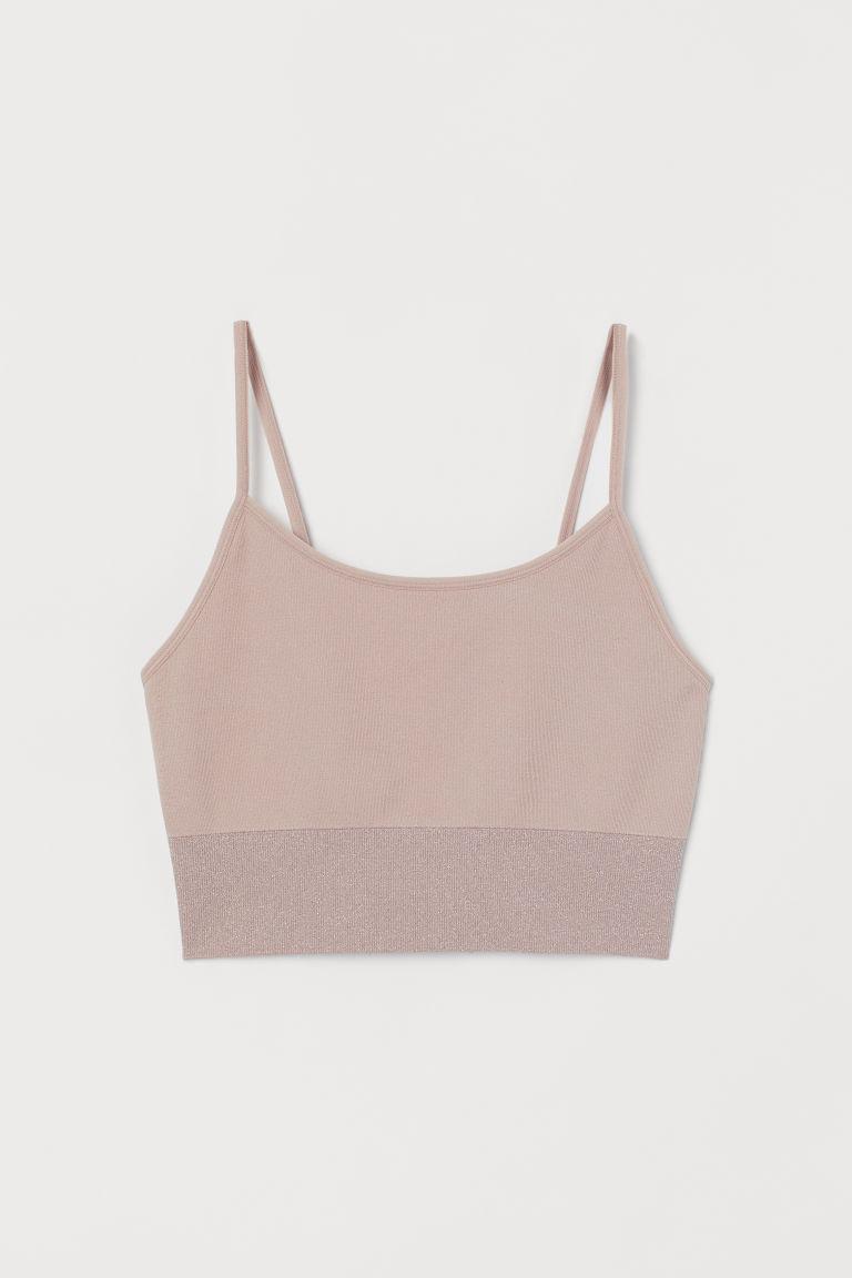 H & M - 無痕運動小可愛內衣 - 粉紅色
