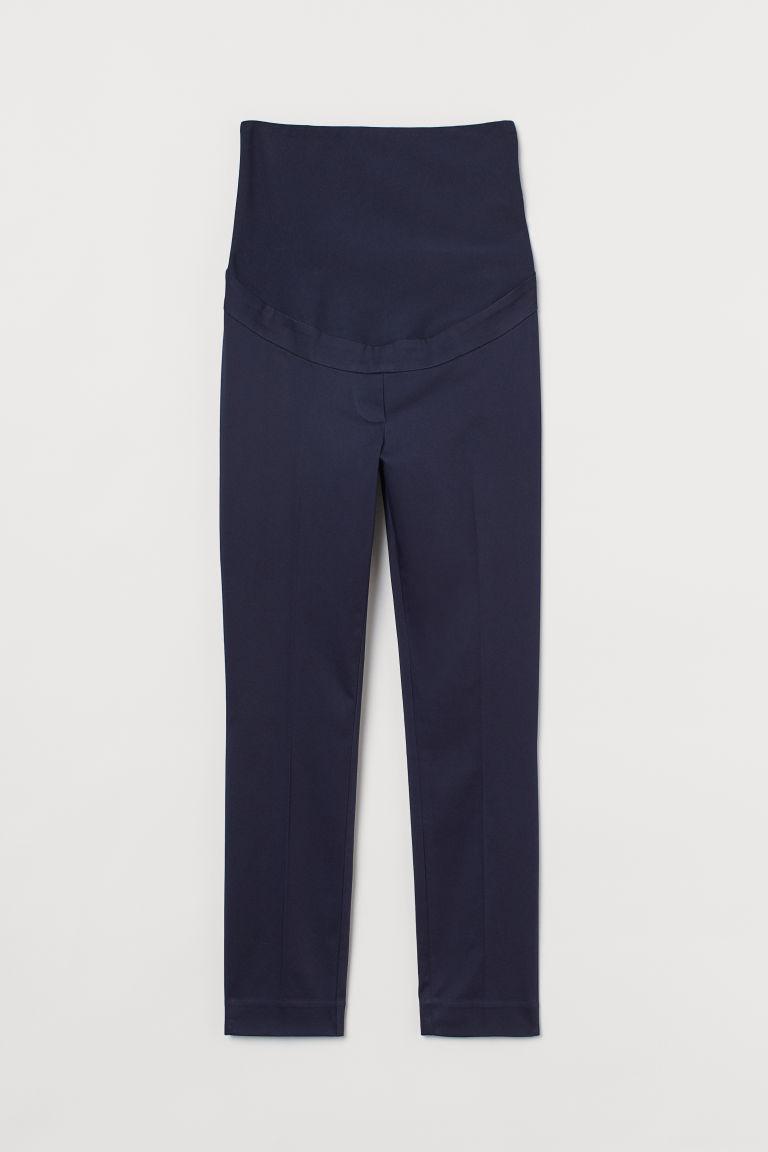 H & M - MAMA 煙管褲 - 藍色