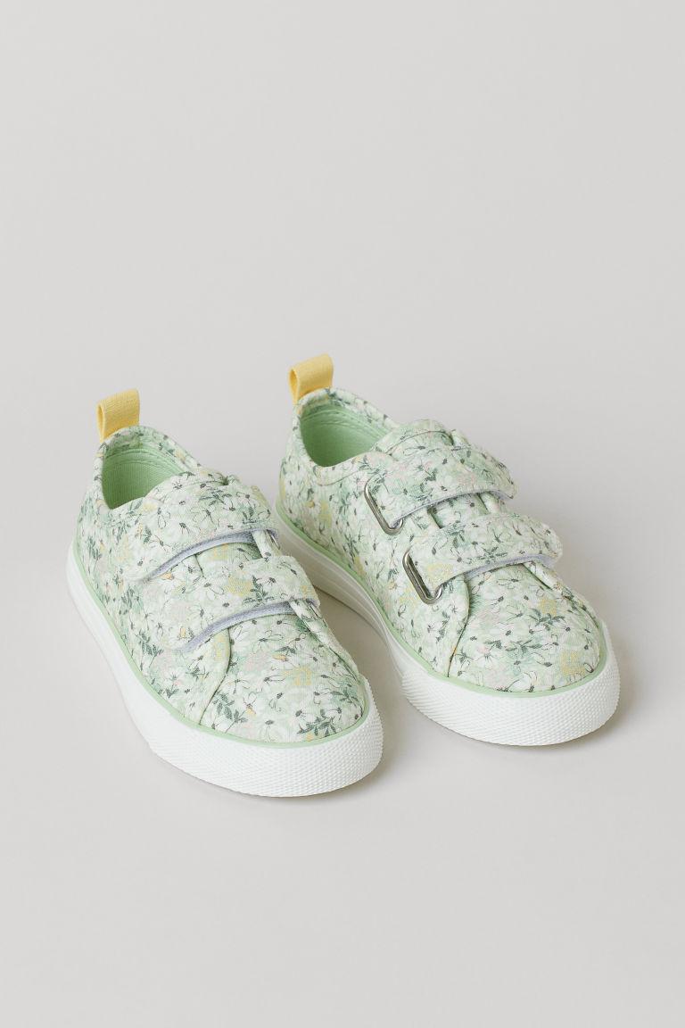 H & M - Sneakers - Grön