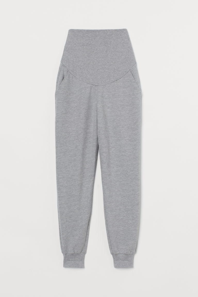 H & M - MAMA 慢跑褲 - 灰色