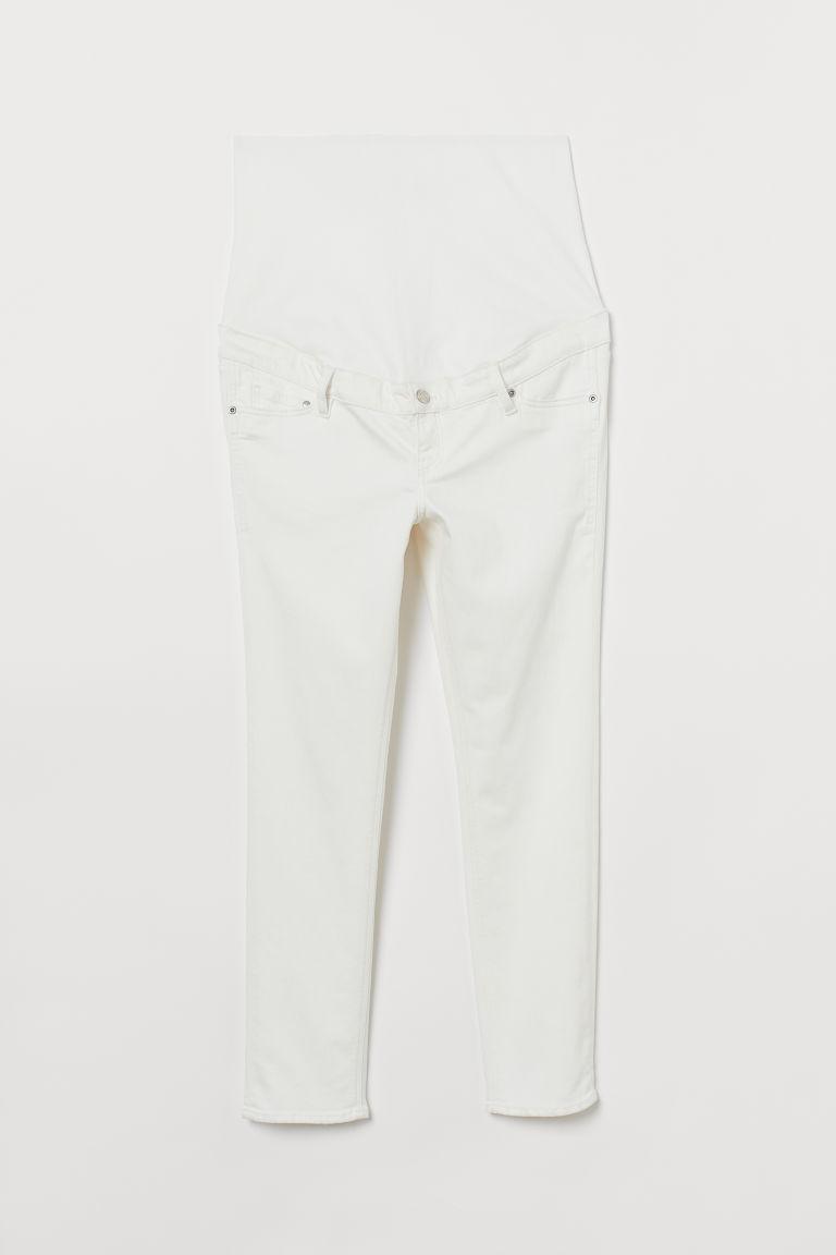 H & M - MAMA 九分褲 - 白色