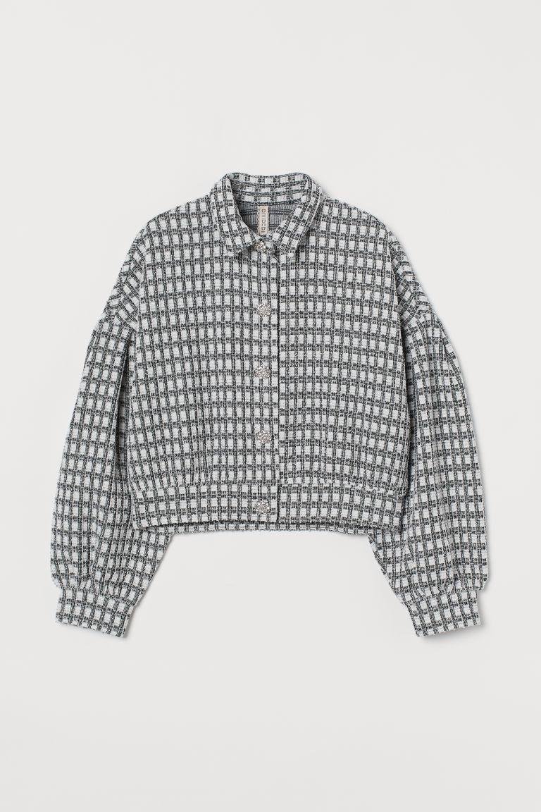 H & M - 公主袖外套 - 黑色